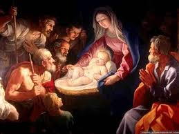 Christmas ~ Baby Jesus and Mary